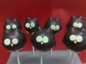 How To Make Owl Cake Pops