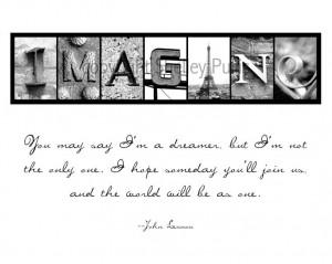 Imagine Peace John Lennon