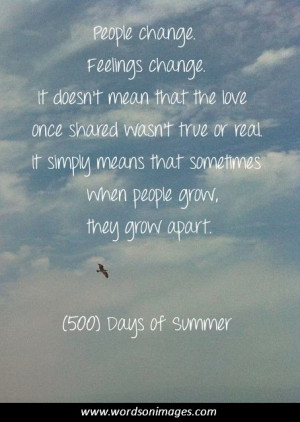 days of summer quote
