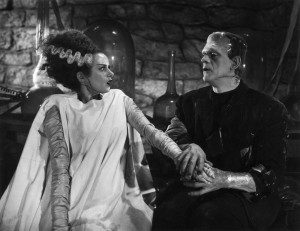 Bride of Frankenstein - Monster and Bride