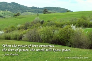 World Peace Quotes And Sayings The world will know peace