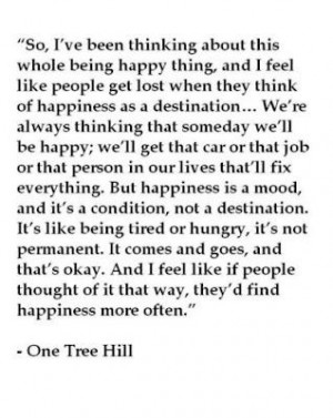 Quotes / Love one tree hill quotes