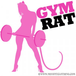 Laura Jayson Heitsenrether = Gym Rat!