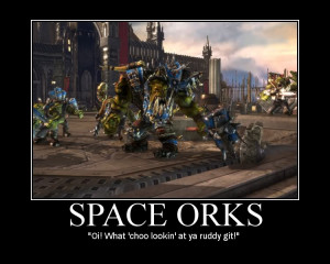 Warhammer 40K Motivational Posters Funny