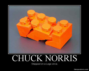 Chuck Norris Demotivational