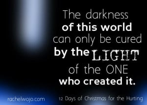Quote from 12 Days of Christmas for the Hurting