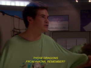 funny hilarious Avatar laugh dragon workaholics Adam Blake ders office ...