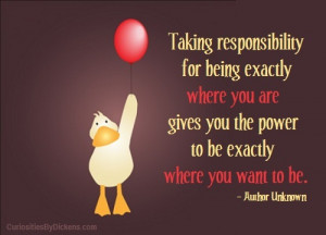 Responsibility and Power | Curiosities By Dickens on We Heart It. http ...