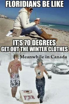 winter, funny pics, florida girl, funni, quote pictures, funny quotes ...