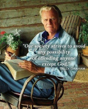 Great Billy Graham quote: