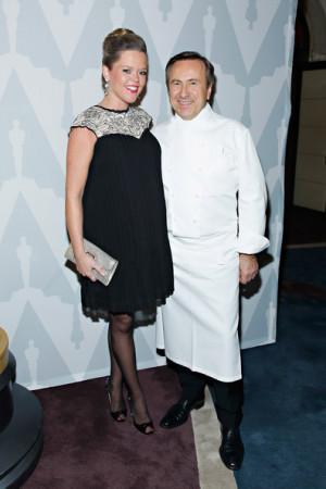 Katherine Boulud Chef Daniel Boulud and wife Katherine Boulud attend