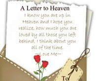Back Pics For Heaven Quotes...
