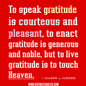 Let Us Rise Up and Be Thankful Buddha Quotes