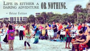 True. Or nothing at all. // Siesta Key Drum Circle Adventure by @Bo