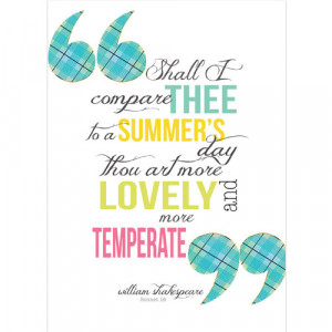Shakespeare quote greeting