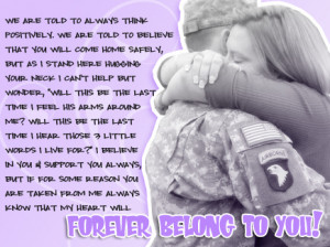 Army Girlfriend Quotes and Poems http://thoughtsasanarmywife.blogspot ...