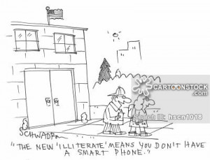 Illiteracy Cartoons Cartoon