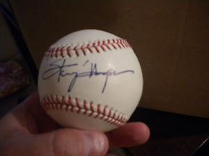 Congressman Steny Hoyer signed OMLB Baseball w PROOF Barack Obama