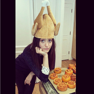 Emmy Rossum Thanksgiving