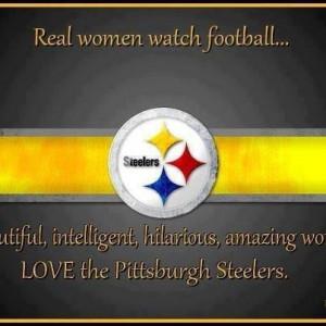 Real women watch football...beautiful, intelligent, hilarious, amazing ...
