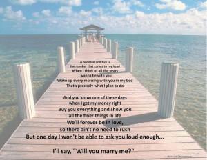 my kinda perfect: friday philosophy jason derulo 'marry me' lyrics ...