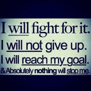 Fighting quotes, cool, motivational, sayings, give up