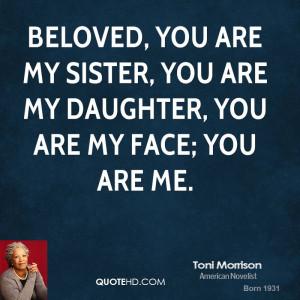Beloved Toni Morrison Quotes Toni morrison quotes
