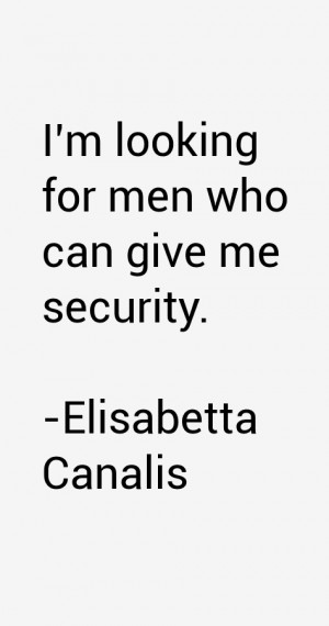 Elisabetta Canalis Quotes amp Sayings