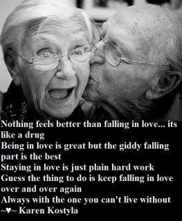 is keep falling in love over and over again always with the one you ...