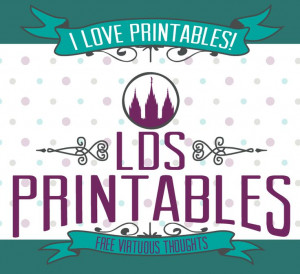 LDS Printables got a makeover! Come check it out and view the ...