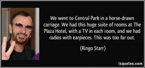 More Ringo Starr Quotes