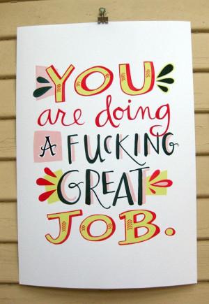YOU are. (Print by emilymcdowelldraws, $32.00)