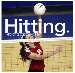 Go Back > Gallery For > Volleyball Quotes For Outside Hitters