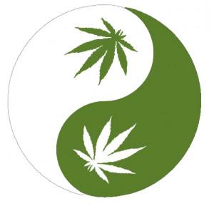 Marijuana Yin Yang:. Border by Bacoben
