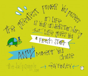 in inspire tagged any moment you choose fresh start fresh start quotes ...