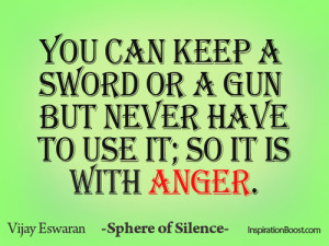 Sphere Silence Anger Quotes