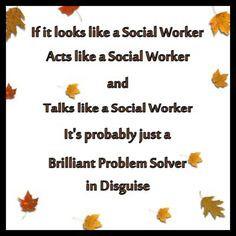 ... social workin socialwork problems solver work funnies social workers