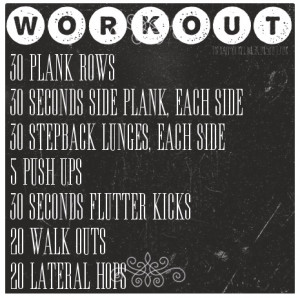 Found this nice Daily Workout Routine . You might Give it a try. Looks ...