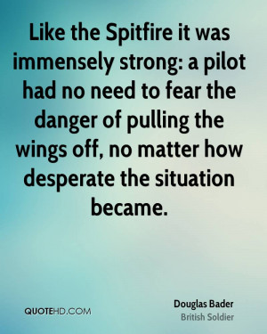 Like the Spitfire it was immensely strong: a pilot had no need to fear ...