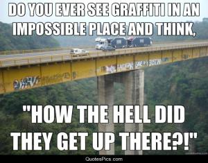 WTF… Graffiti – Anonymous