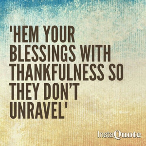 Give Thanks....LOVE THIS!