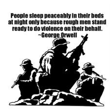 George Orwell Quote Wall Art Poster