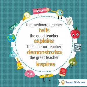 The great teacher inspires back to school quote