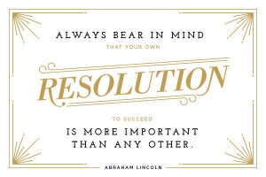 Abraham Lincoln's New Year's Wisdom