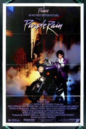 Details about PURPLE RAIN * PRINCE 1SH ORIG MOVIE POSTER 1984