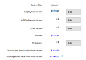 Premiums & Advance Tax Credit Calculator
