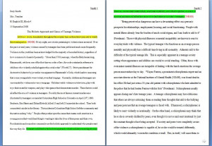sample expository essay conflict