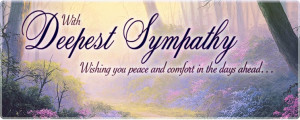 Search Results: Home > Occasions: Sympathy & Memorial