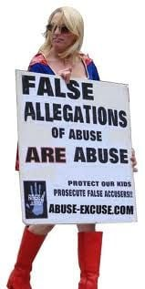 Wrongly accused… falsely accused of abuse.