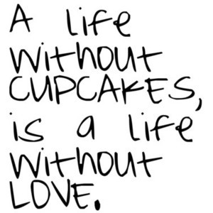 Cupcake quote by Emily, use